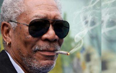 """Morgan Freeman sulla Marijuana: """"La mangio, la bevo, la fumo!"""""""