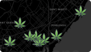 Cannabis Map Barcelona